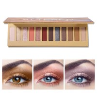 12 Colors Multicolor Sexy Shades Eyeshadow Powder Palette