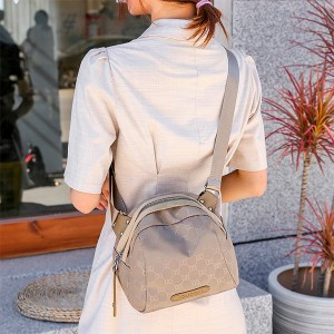 Printed Fancy Women Fashion Designers Shoulder Bag - Khaki