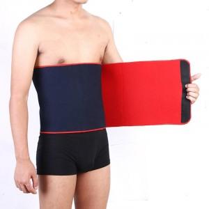 Waist Trimmer Abdominal Bodybuilding Sports Safety Fitness Belt - Dark Blue