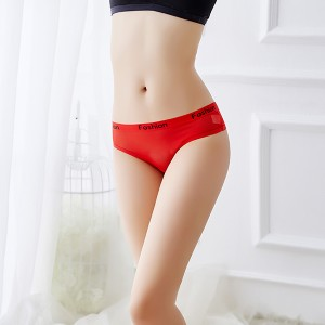 Hot Style Sexy Mesh Thong - Red