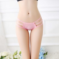 Bow Knot Breathble Ladies Briefs - Watermelon Red