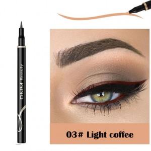 Waterproof Long Lasting Quick Dry Eyeliner - Light Coffee
