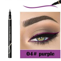 Waterproof Long Lasting Quick Dry Eyeliner - Purple