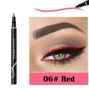 Waterproof Long Lasting Quick Dry Eyeliner - Red