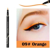 Waterproof Long Lasting Quick Dry Eyeliner - Orange