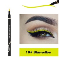 Waterproof Long Lasting Quick Dry Eyeliner - Blue Yellow