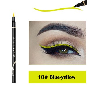 Waterproof Long Lasting Quick Dry Eyeliner - Blue Yellow