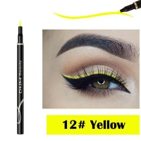 Waterproof Long Lasting Quick Dry Eyeliner - Yellow