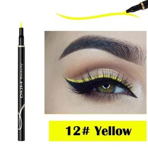 Waterproof Long Lasting Quick Dry Eyeliner - Yellow