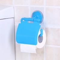 New Easy Adjustable Multi Purpose Tissue Roll Wall Hanger - Blue