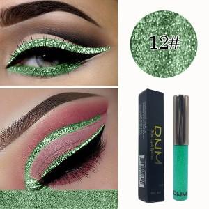 Eye Cosmetics Shadow Sexy Charming Sequins Eyeliner Pen 12 - Light Green