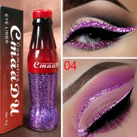 Glitter Long Lasting Waterproof Shiny Eyeliner 04 - Purple