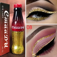 Glitter Long Lasting Waterproof Shiny Eyeliner 08 - Yellow
