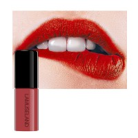 Glitter Matte Waterproof Shimmer Lip Gloss 07 - Wine Red