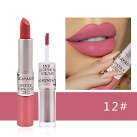 2 In 1 Waterproof Long Lasting Pigment Lipstick 12 - Hot Pink