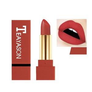 Pigment Waterproof Long Lasting Lipstick 08 - Wine Red