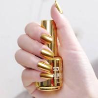 Shiny Water Resistant Long Lasting Nail Polish 01 - Golden