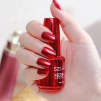 Shiny Water Resistant Long Lasting Nail Polish 04 - Red