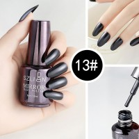Shiny Water Resistant Long Lasting Nail Polish 13 - Dark Gray
