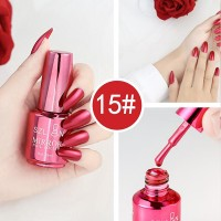 Shiny Water Resistant Long Lasting Nail Polish 15 - Desert Rose