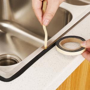 Bathroom Shower Sink Gas Stove Bath Sealing Strip Doors Windows Kitchen Tool Waterproof Sticker Tape