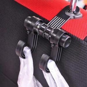 Double Hook Car Seat Headrest Holder