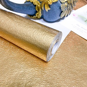 Embossed Texture High Temperature Resistant Oil Proof Waterproof For Home Kitchen Table Decoration - Golden