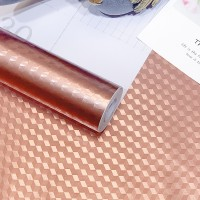 3D Texture High Temperature Resistant Oil Proof Waterproof For Home Kitchen Table Decoration - Rose Gold