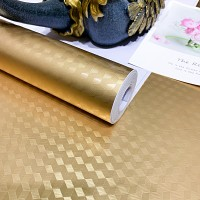 3D Texture High Temperature Resistant Oil Proof Waterproof For Home Kitchen Table Decoration - Golden