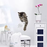 3D Decorative Wall Stickers Waterproof And Pollution Proof Toilet Stickers - Cat 4