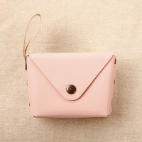 Titch Closure Mini Money Pocket Wallet - Pink