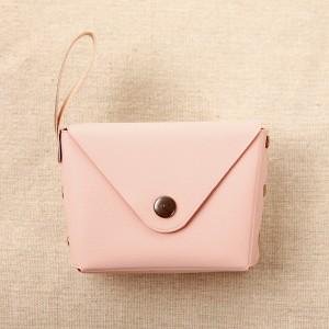 Titch Closure Mini Money Pocket Wallet - Pink