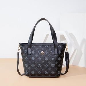 Printed Zipper Designers Closure Shoulder Bags - Blue