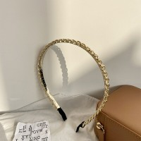 Braided Golden Women Fashion Party Band