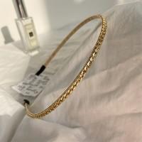 Golden Fancy Party Wear Hair Band - Golden