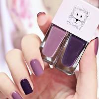 Water Resistant Full Coverage Nail Polish - Dark Purple