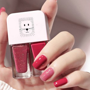 Water Resistant Full Coverage Nail Polish - Red