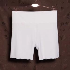 Elastic Stretchable Shorts Style Women Casual Underwear - White