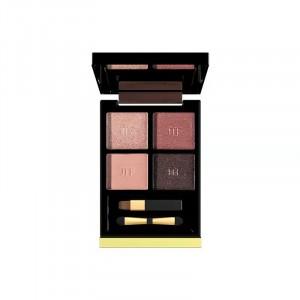 Four Shade Glittery Women Fashion Eye Shadow - Light Shades