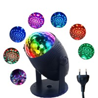 Mini Stage Led Party Stand Flashing Light - Black