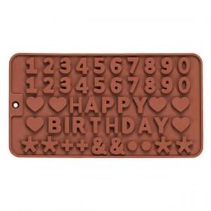 Numeric Shape Silicone Chocolate Mold