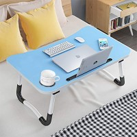 High Quality Laptop Ipad Table Desk - Light Blue