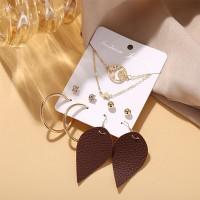 Five Pieces Bohemian Cocktail Wear Ear Jewellery Set