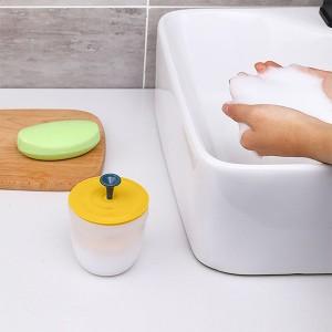 Easy Shampoo Foam Quick Maker Handheld Tool - Yellow