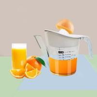 2 In 1 Mini Manual Hand Citrus Lemon Juicer - Transparent