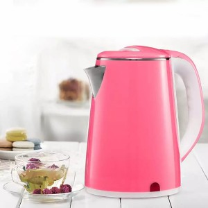 Electric Heat Kettle For Hot Water - Light Pink
