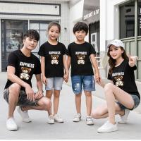 Cartoon Elegant Printed Comfy Wear One Piece T-Shirt - Black