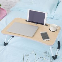 High Quality Laptop Ipad Table Desk - Beige
