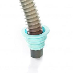 Multi Purpose Silicon Drain Pipe Fixture Silicon Seal Ring - Blue