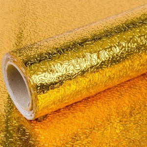 Embosed Texture High Temperature Resistant Anti Dirt Protective Sheet - Golden